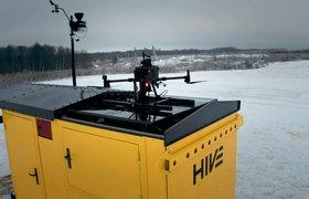 В России стартовало серийное производство полностью автономных дронопортов