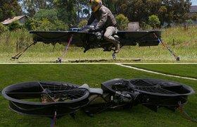 Hoverbike появился на Kickstarter