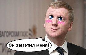 Чубайс попросил у Путина 89 млрд рублей на российско-индийский фонд