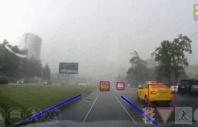 Беспилотные автомобили российского разработчика Cognitive Technologies проехали 500 тысяч км