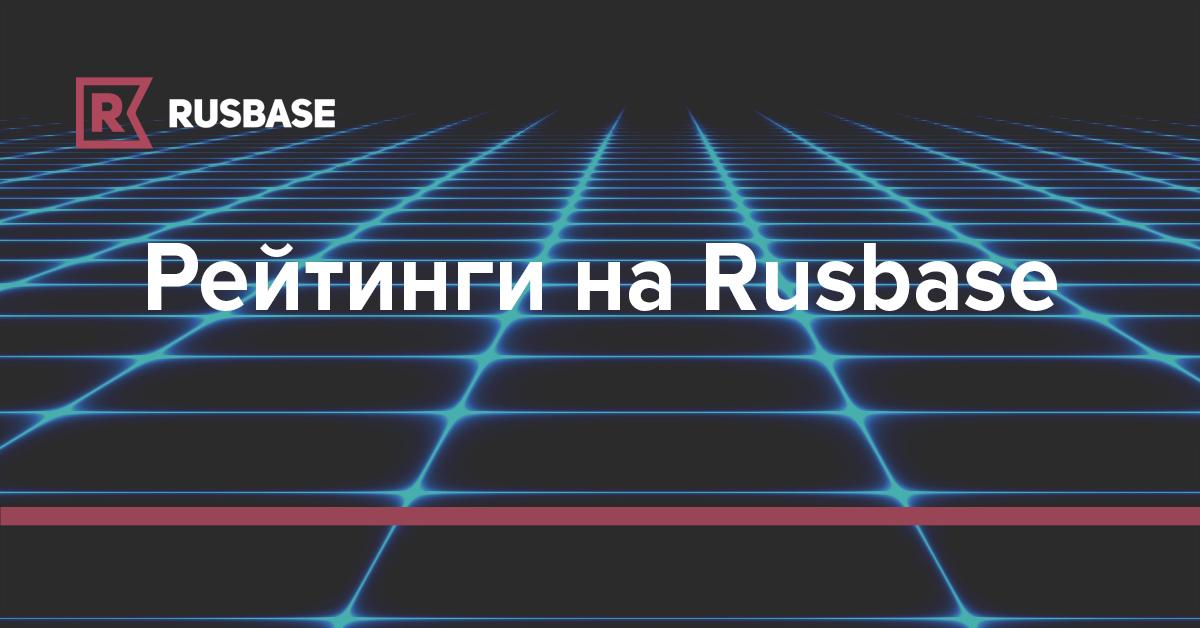 Рейтинги на Rusbase | Rusbase