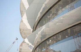 В сети появились новые фотографии «космического» кампуса Apple