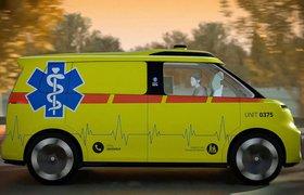 «Скорая» без водителя – новый проект Volkswagen