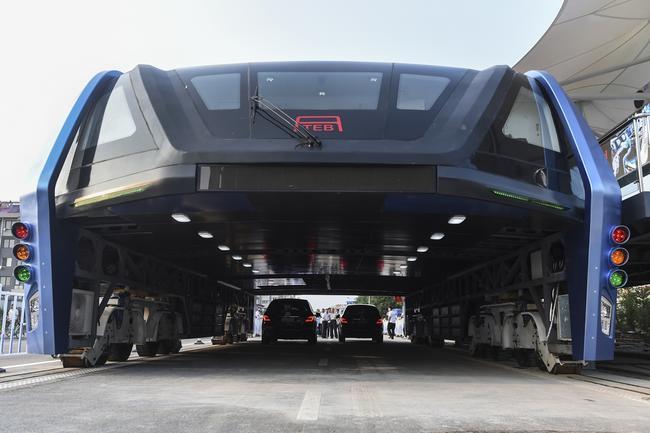 В Китае испытали «автобус будущего