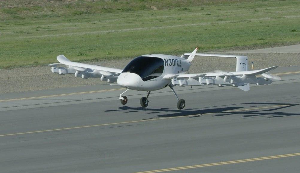 Сооснователь Google Ларри Пейдж показал концепт летающего электротакси Cora