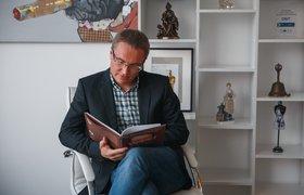 Рабочее место: Дмитрий Грин, вице-президент «Рыбаков фонда»