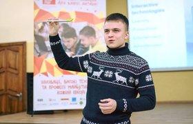 «Пользуйся возможностью, пока она есть». Как украинский студент придумал альтернативу интерактивным доскам и заработал $100 000