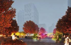 Фантастический проект многоуровневого сада в Сеуле