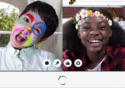 Facebook запустил детскую версию Messenger