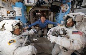 Названа зарплата астронавтов NASA