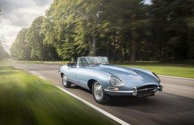Jaguar представил электрокар на базе «самого красивого автомобиля в мире» из 1960-х