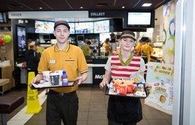 McDonald's запускает обслуживание столиков