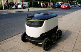 В Европе запускают доставку с помощью шестиколесных роботов