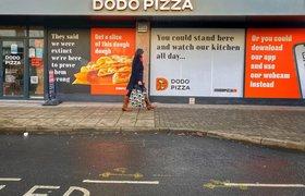 «Додо Пицца» открыла в Великобритании первую собственную пиццерию в формате фаст-гурмэ