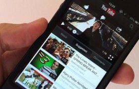 40% трафика YouTube приходится на мобильные устройства