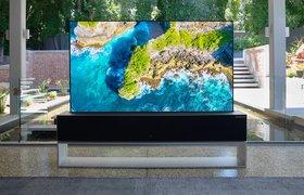 LG запустила продажи первого «рулонного» телевизора