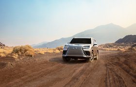 Камеры под автомобилем и запуск двигателя по отпечатку пальца: Lexus представил новое поколение LX