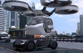 Airbus показал видео с концептом беспилотной летающей машины с вызовом через приложение