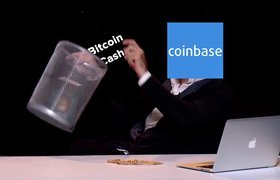 Пользователи массово выводят средства с биткоин-биржи Coinbase после отказа сервиса от Bitcoin Cash