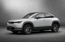 Mazda представила свой первый электромобиль с нестандартными дверями