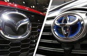 Toyota и Mazda запустят совместное производство электрокаров