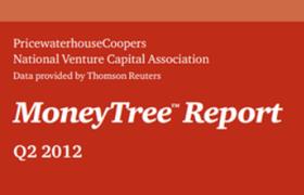 Отчёт MoneyTree об активности венчурного капитала в США во 2 квартале 2012 года