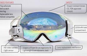 Очки дополненной реальности для сноубордистов собрали $100 тысяч на Indiegogo