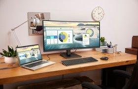 HP представил новые ноутбуки и сверхширокий монитор для удаленной и офисной работы