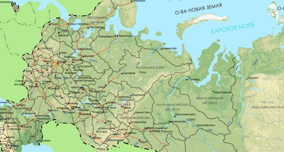 ФАС обязала «большую четверку» отменить плату за роуминг в России