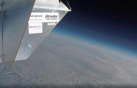 Российский стартап StartRocket запустил логотип проекта AdrenalineGameChangers на орбиту Земли