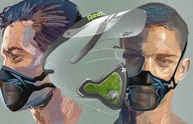 Пробежки в мире антиутопии: как выглядят и работают маски Reebok для фитнеса