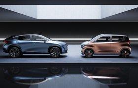 Nissan представил два новых электрокара — Ariya и IMk