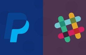 PayPal запустила бота по обмену деньгами в бизнес-мессенджере Slack