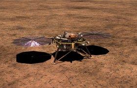 Зонд NASA InSight успешно приземлился на Марсе и отправил первый снимок планеты