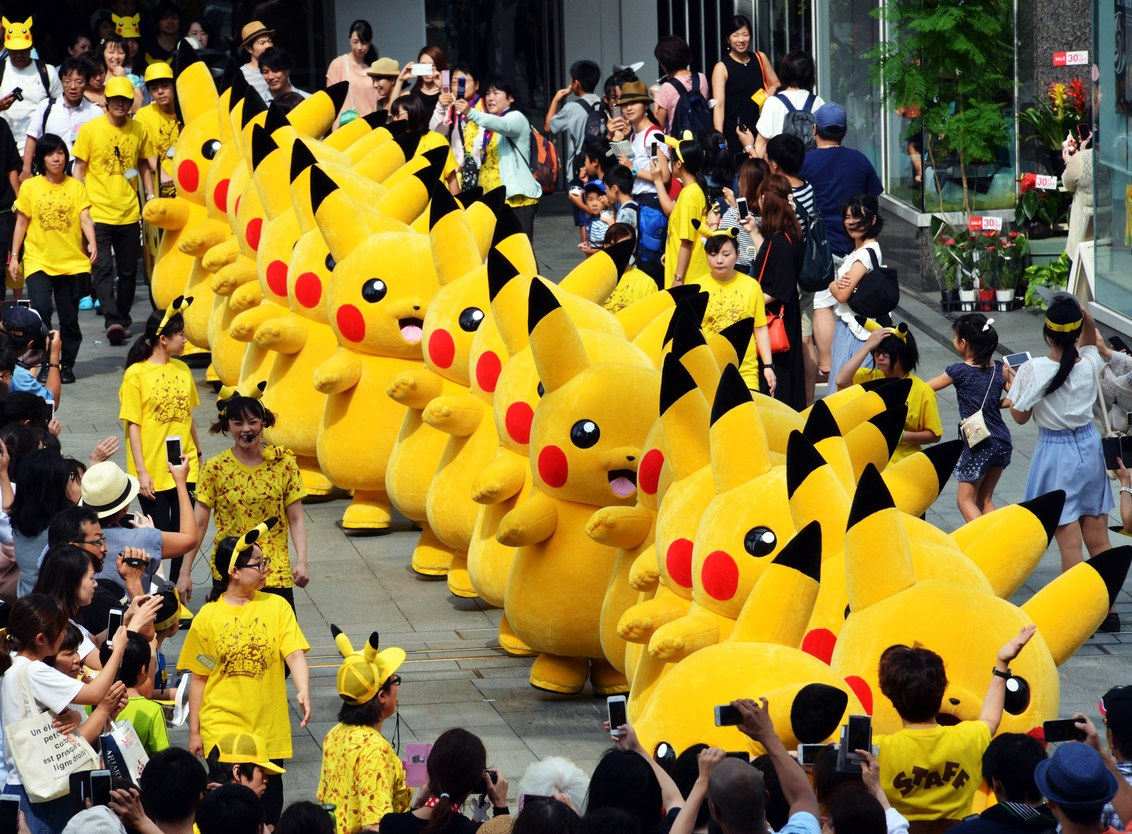 Как живет игра Pokémon Go два года спустя ажиотажа