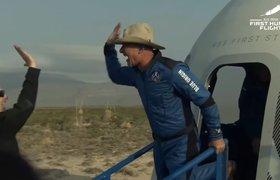 Джефф Безос совершил суборбитальный полет на корабле New Shepard и вернулся на Землю