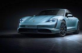 Porsche выпустила самый дешевый электромобиль в своей линейке
