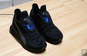 Puma начнет продавать кроссовки с автоматической шнуровкой за $330