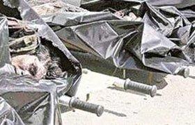 Тела террористов оставили государству