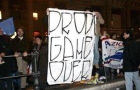 Италия празднует отставку Романо Проди. Фоторепортаж
