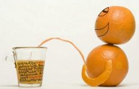 Реклама апельсинового сока (18+)