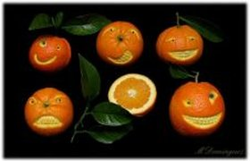 Апельсиновые гримассы