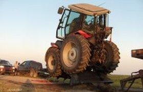 Сломал трактор