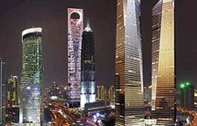 Площади нового небоскреба в Шанхае оказались плохо востребованы