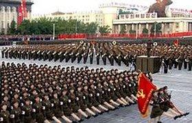 Северная Корея отметила 60-летие парадом без вождя. Фоторепортаж