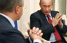 "Путин поблагодарил ""недрогнувших"" инвесторов"