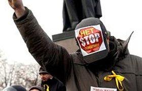 Против митингующих автомобилистов бросили ОМОН