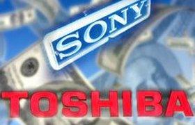 Вместо прибыли Sony и Toshiba подсчитывают убытки