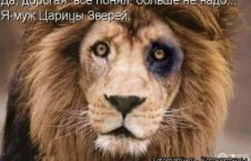 Побитый лев