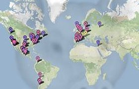 Следить за распространением свиного гриппа на планете можно на GoogleMaps